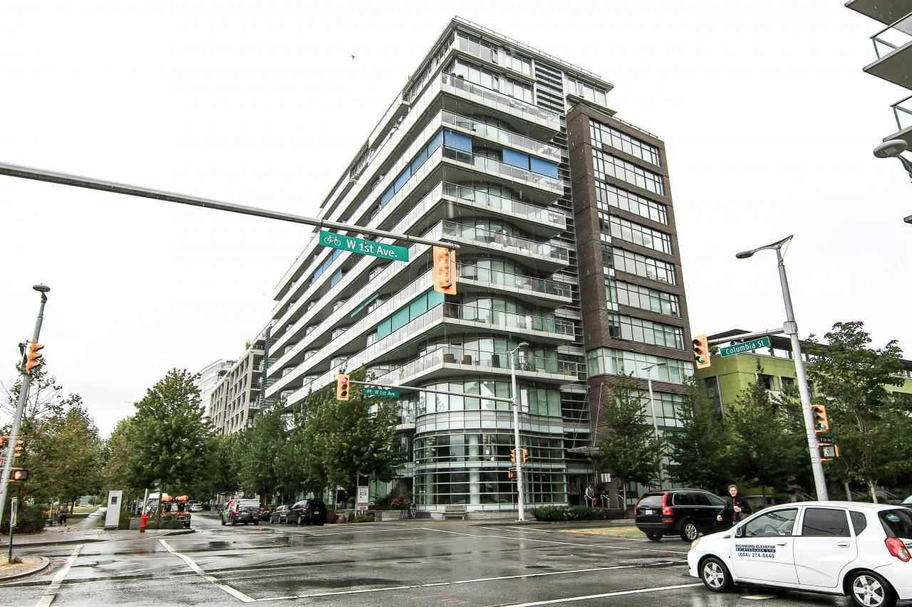 Main Photo: 911 181 W 1ST Avenue in Vancouver: False Creek Condo for sale (Vancouver West)  : MLS®# R2113875