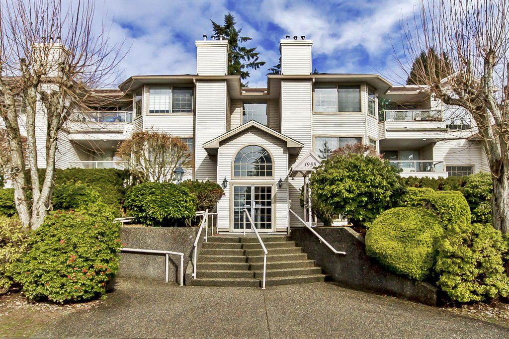"Main Photo: 107 1955 SUFFOLK Avenue in Port Coquitlam: Glenwood PQ Condo for sale in ""OXFORD PLACE"" : MLS®# R2144804"