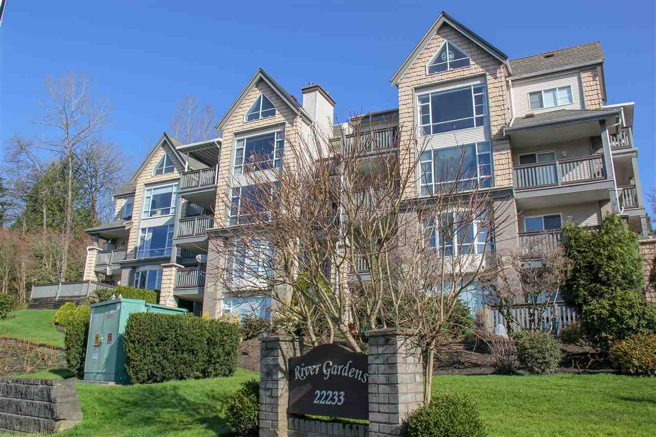 "Main Photo: 212 22233 RIVER Road in Maple Ridge: West Central Condo for sale in ""RIVER GARDENS"" : MLS®# R2252759"