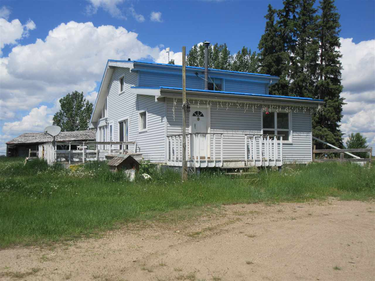 Main Photo: RR 215 Twp 590: Rural Thorhild County House for sale : MLS®# E4138565