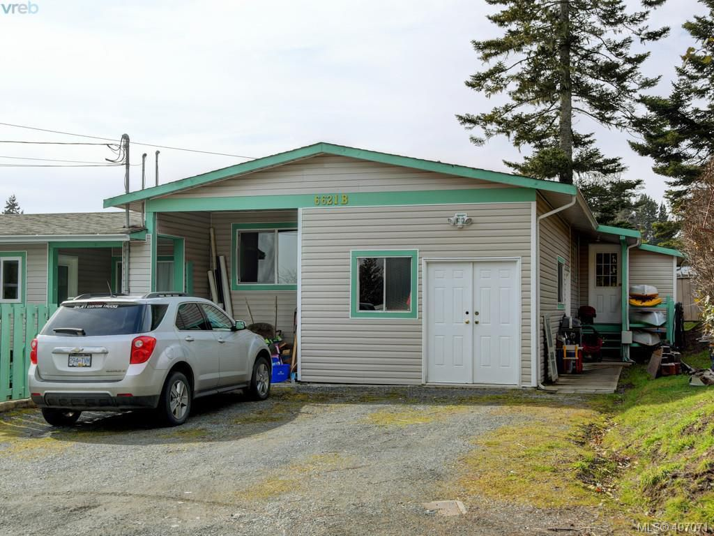 Main Photo: B 6621 Sooke Road in SOOKE: Sk Sooke Vill Core Half Duplex for sale (Sooke)  : MLS®# 407071