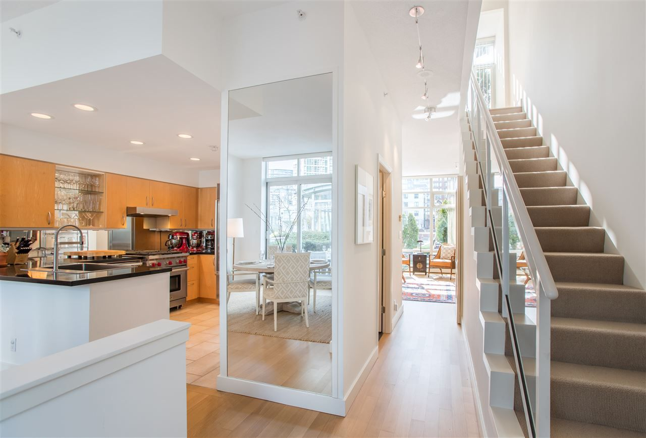 Stunning 2 level townhome.