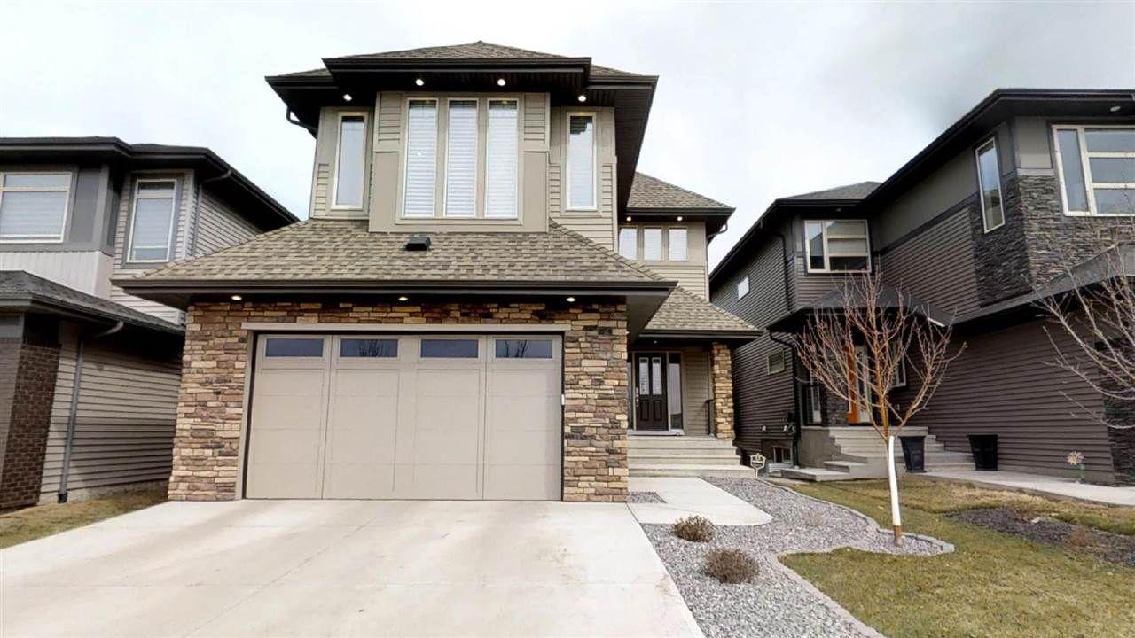Main Photo: 3622 ALLAN Drive in Edmonton: Zone 56 House for sale : MLS®# E4153292