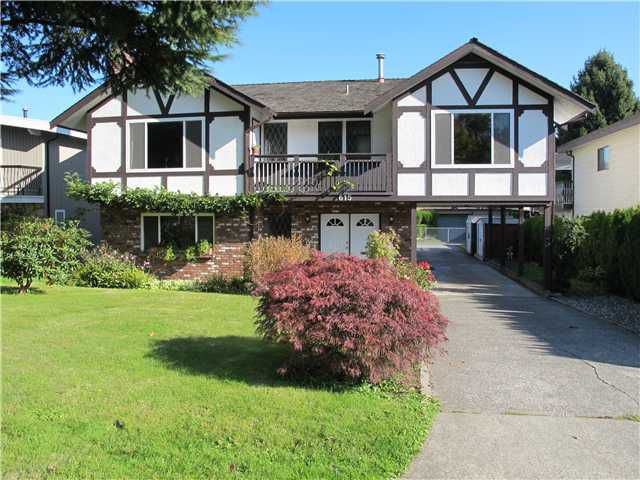 Main Photo: 615 CUMBERLAND Street in New Westminster: The Heights NW House for sale : MLS®# V1032577
