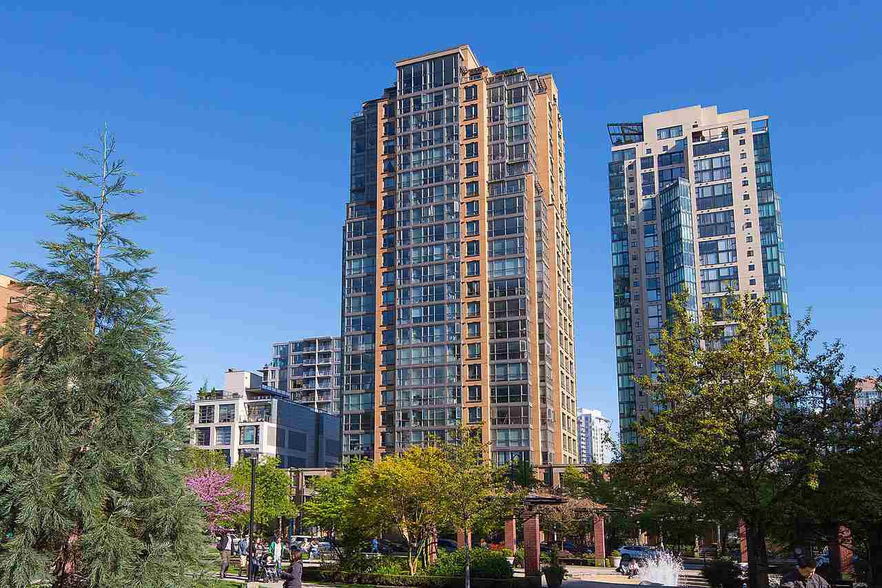 Main Photo: 2310 1188 RICHARDS Street in Vancouver: Yaletown Condo for sale (Vancouver West)  : MLS®# R2167050