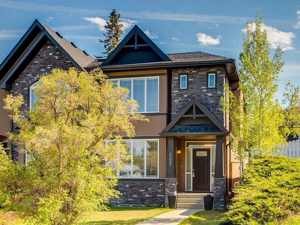 Main Photo: 207 25 Avenue NW in Calgary: Tuxedo Park House for sale : MLS®# C4185003
