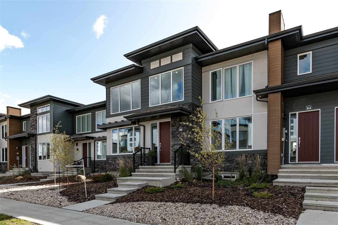 Main Photo: 96 Salisbury Way: Sherwood Park Attached Home for sale : MLS®# E4127661