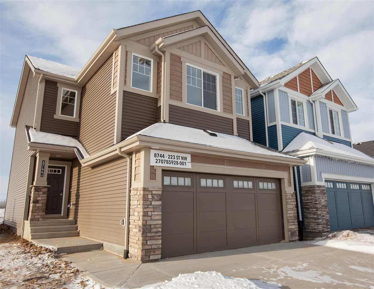 Main Photo: 8744 223 Street in Edmonton: Zone 58 House for sale : MLS®# E4140341
