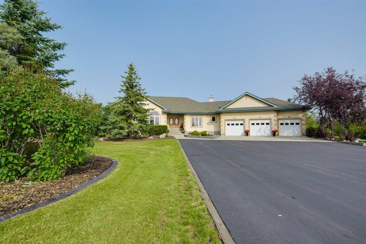 Main Photo: 133 53038 RR 225: Rural Strathcona County House for sale : MLS®# E4141764
