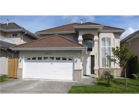 Main Photo: 6031 DANUBE RD in Richmond: House for sale (Woodwards)  : MLS®# V827867