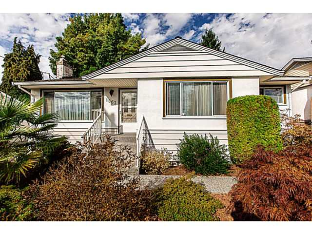 """Main Photo: 1063 SEVENTH Avenue in New Westminster: Moody Park House for sale in """"MOODY PARK"""" : MLS®# V1090839"""