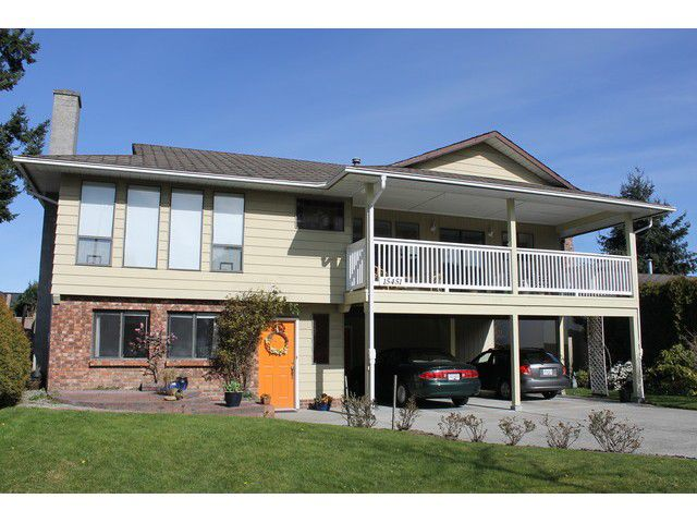 "Main Photo: 15451 ROPER Avenue: White Rock House for sale in ""White Rock"" (South Surrey White Rock)  : MLS®# F1433989"