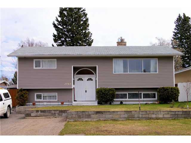 Main Photo: 2742 MICHENER Crescent in Prince George: Westwood House for sale (PG City West (Zone 71))  : MLS®# N244015