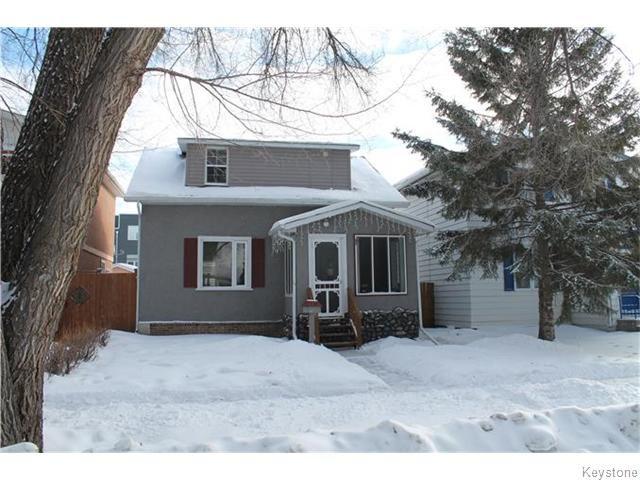 Main Photo: 460 De La Morenie Street in WINNIPEG: St Boniface Residential for sale (South East Winnipeg)  : MLS®# 1603203