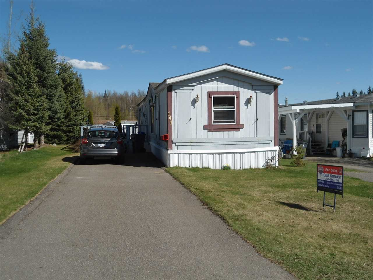Main Photo: 141 2500 GRANT Road in Prince George: Hart Highway Manufactured Home for sale (PG City North (Zone 73))  : MLS®# R2058191