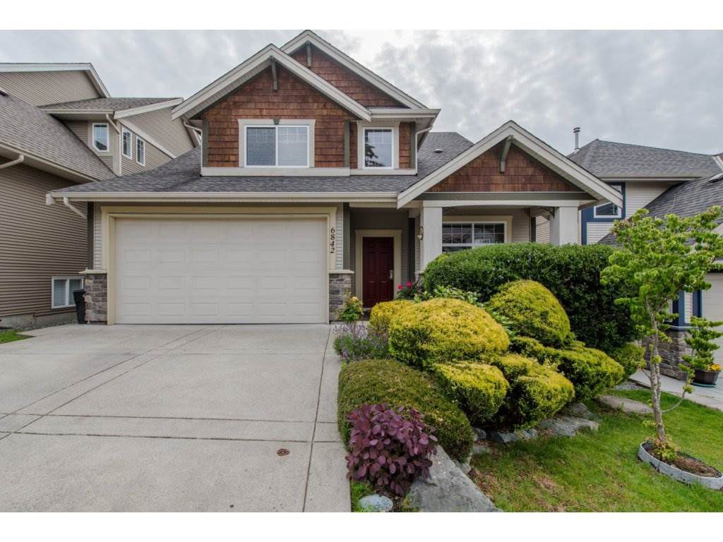 Main Photo: 6842 198B Street in Langley: Willoughby Heights House for sale : MLS®# R2083808