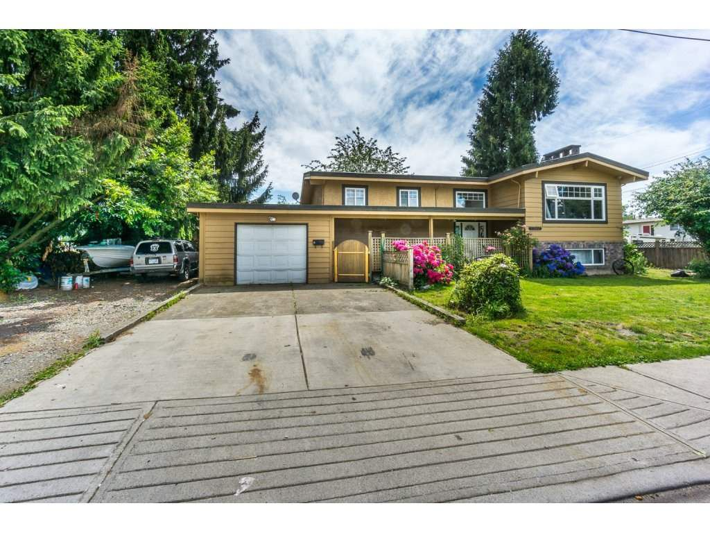 Main Photo: 46274 REECE Avenue in Chilliwack: Chilliwack N Yale-Well House for sale : MLS®# R2084832