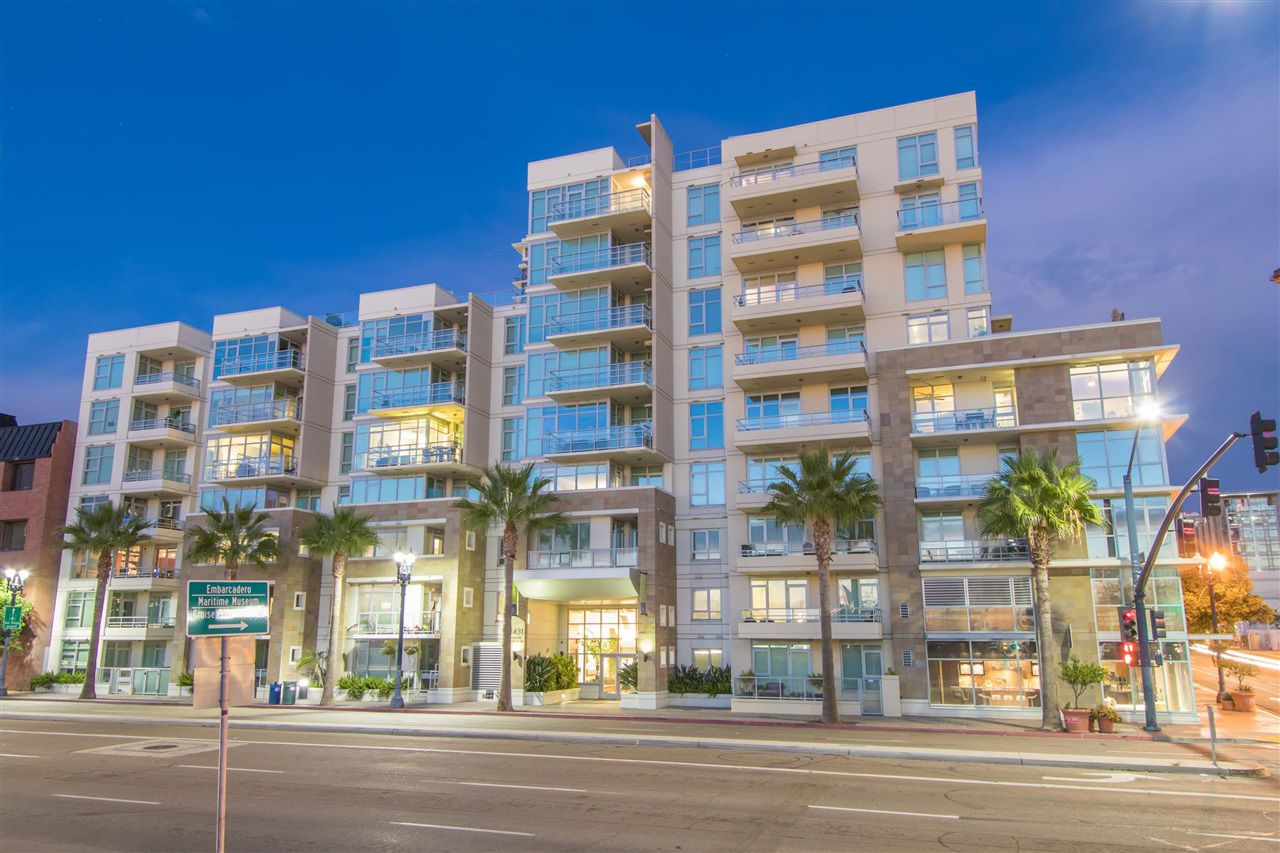 Main Photo: DOWNTOWN Condo for sale : 1 bedrooms : 1431 PACIFIC HIGHWAY #401 in San Diego