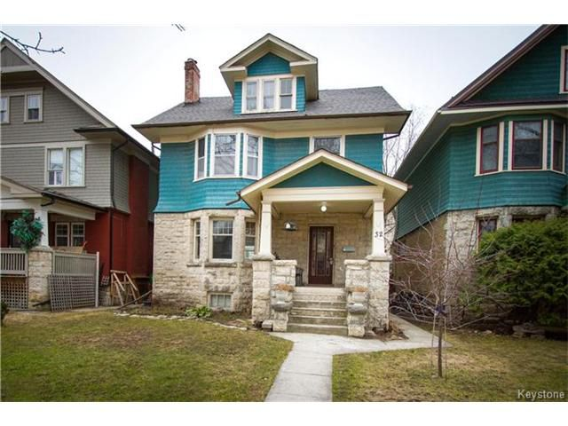 Main Photo: 32 Purcell Avenue in Winnipeg: Wolseley Residential for sale (5B)  : MLS®# 1706942