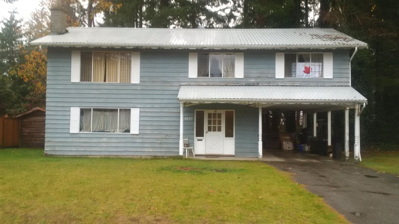 Main Photo: 4155 204B Street in Langley: Brookswood Langley House for sale : MLS®# R2216802