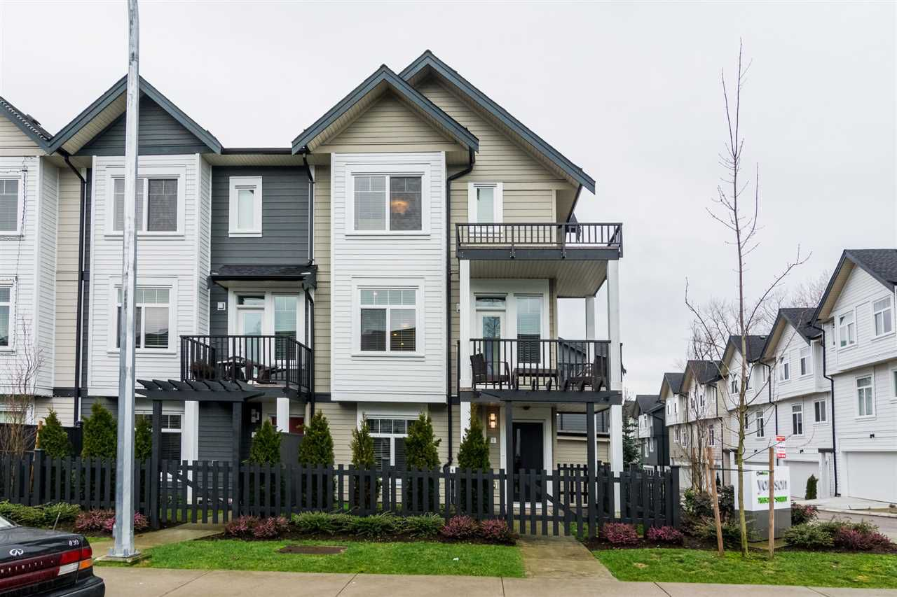 "Main Photo: 1 7665 209 Street in Langley: Willoughby Heights Townhouse for sale in ""Archstone-Yorkson"" : MLS®# R2232525"