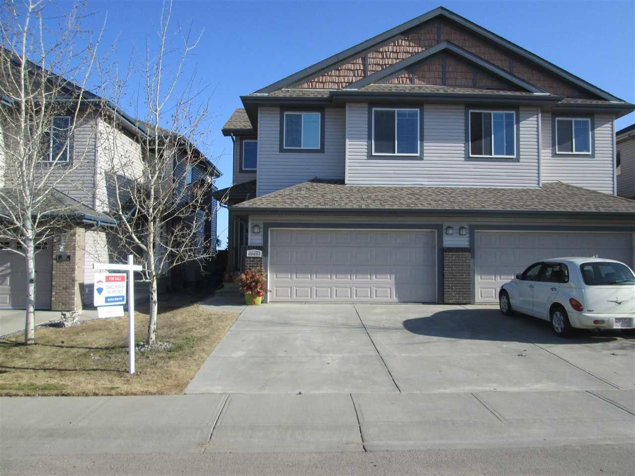 Main Photo: 6944 19A Avenue in Edmonton: Zone 53 House Half Duplex for sale : MLS®# E4149801