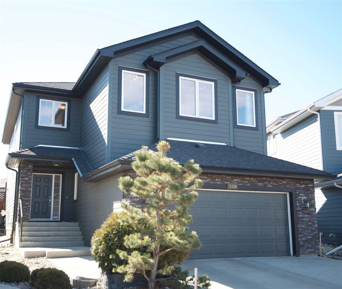 Main Photo: 1439 WATES Link in Edmonton: Zone 56 House for sale : MLS®# E4152733