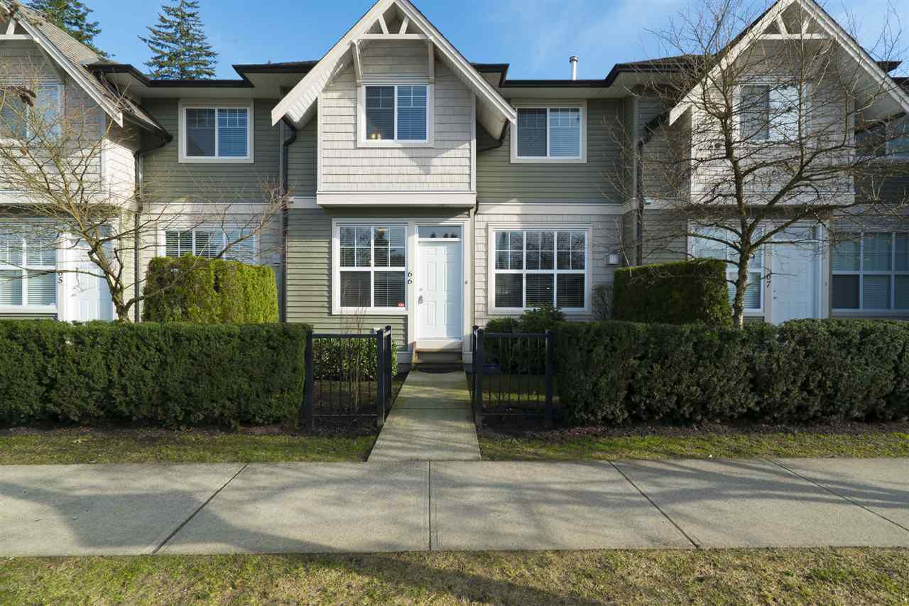 "Main Photo: 66 11720 COTTONWOOD Drive in Maple Ridge: Cottonwood MR Townhouse for sale in ""Cottonwood Green"" : MLS®# R2150098"