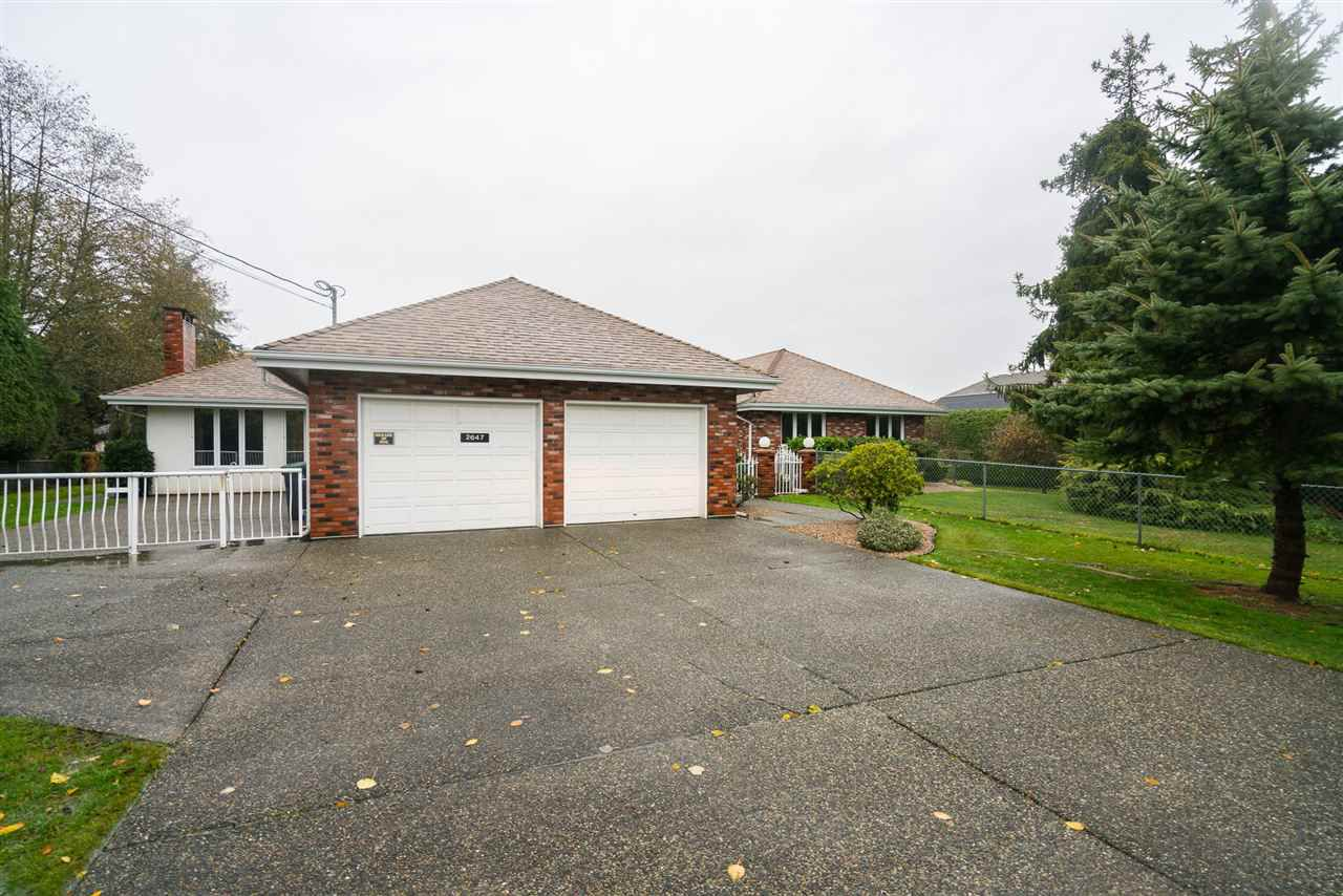 Main Photo: 2647 168TH Street in Surrey: Grandview Surrey House for sale (South Surrey White Rock)  : MLS®# R2219367