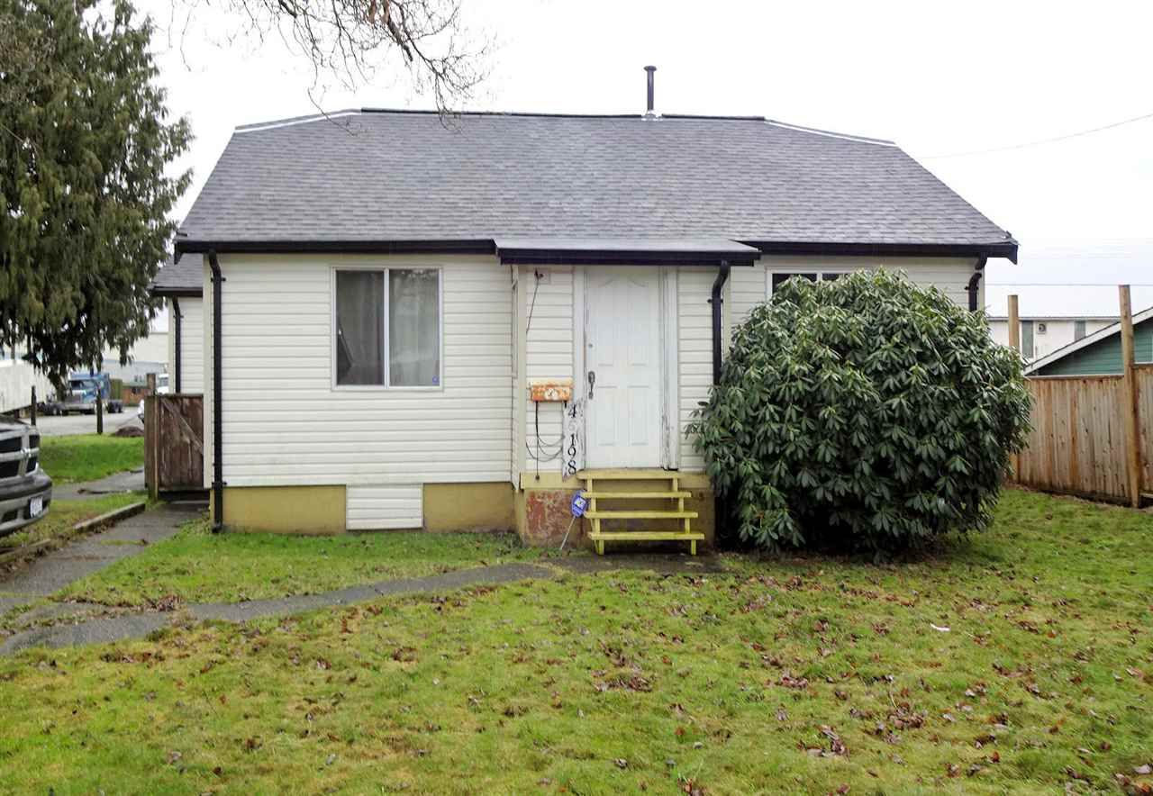Main Photo: 46198 THIRD Avenue in Chilliwack: Chilliwack E Young-Yale House for sale : MLS®# R2238613