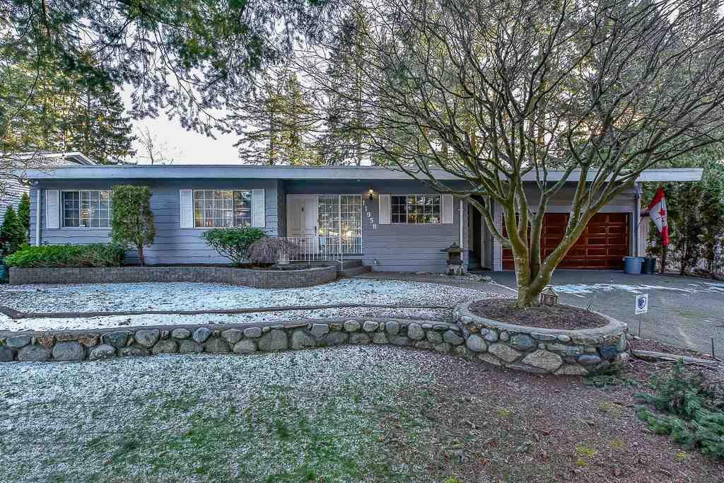 "Main Photo: 11958 WOODHURST Drive in Delta: Sunshine Hills Woods House for sale in ""SUNSHINE HILLS"" (N. Delta)  : MLS®# R2340339"