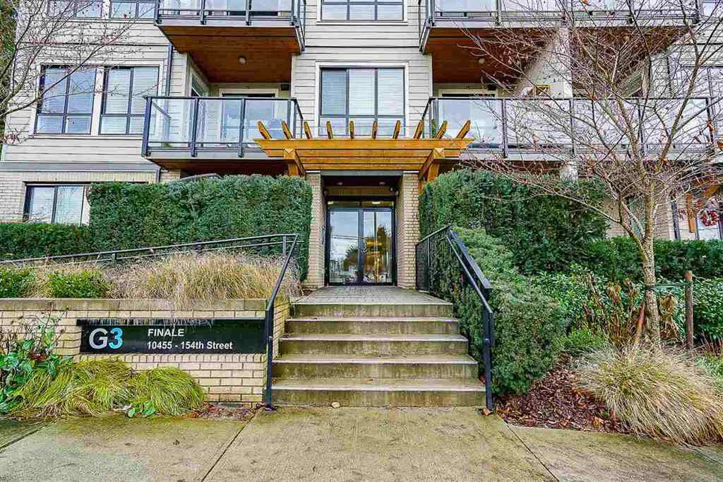 "Main Photo: 211 10455 154 Street in Surrey: Guildford Condo for sale in ""G3 Residences"" (North Surrey)  : MLS®# R2355272"