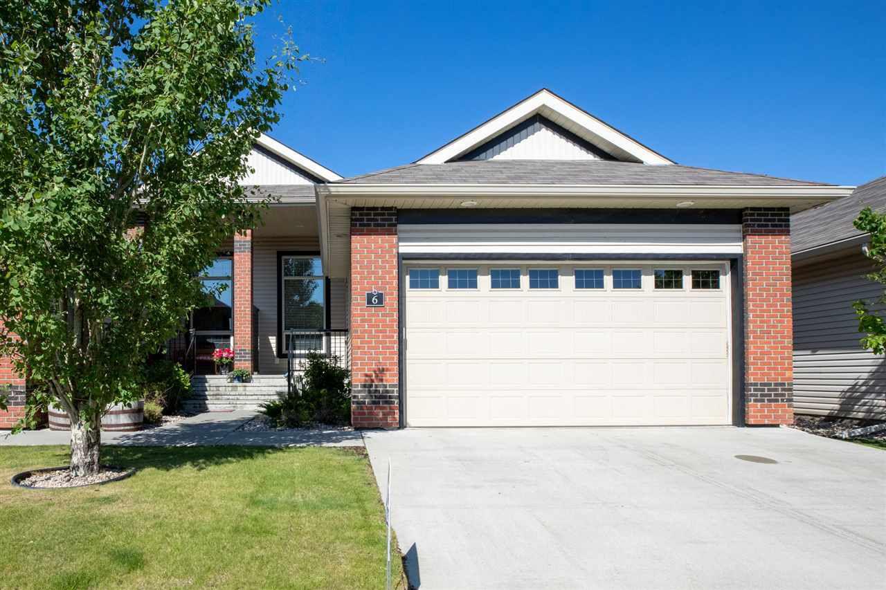Main Photo: 6 841 156 Street in Edmonton: Zone 14 House Half Duplex for sale : MLS®# E4162262