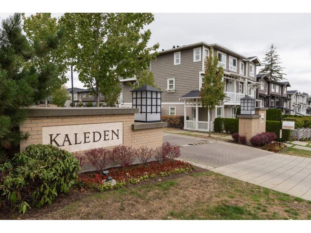 "Main Photo: 23 2729 158 Street in Surrey: Grandview Surrey Townhouse for sale in ""Kaleden"" (South Surrey White Rock)  : MLS®# R2143695"