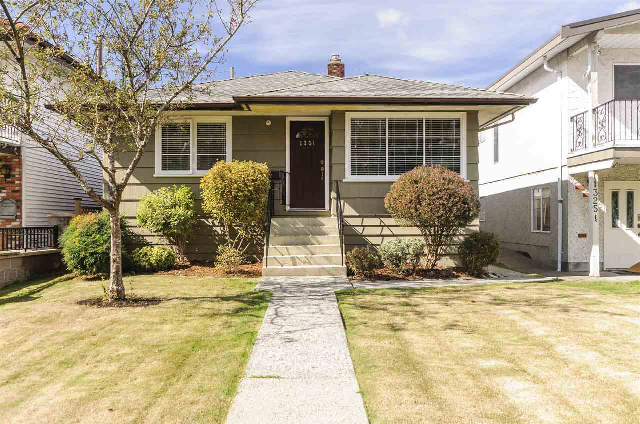 Main Photo: 1331 RUPERT Street in Vancouver: Renfrew VE House for sale (Vancouver East)  : MLS®# R2208059