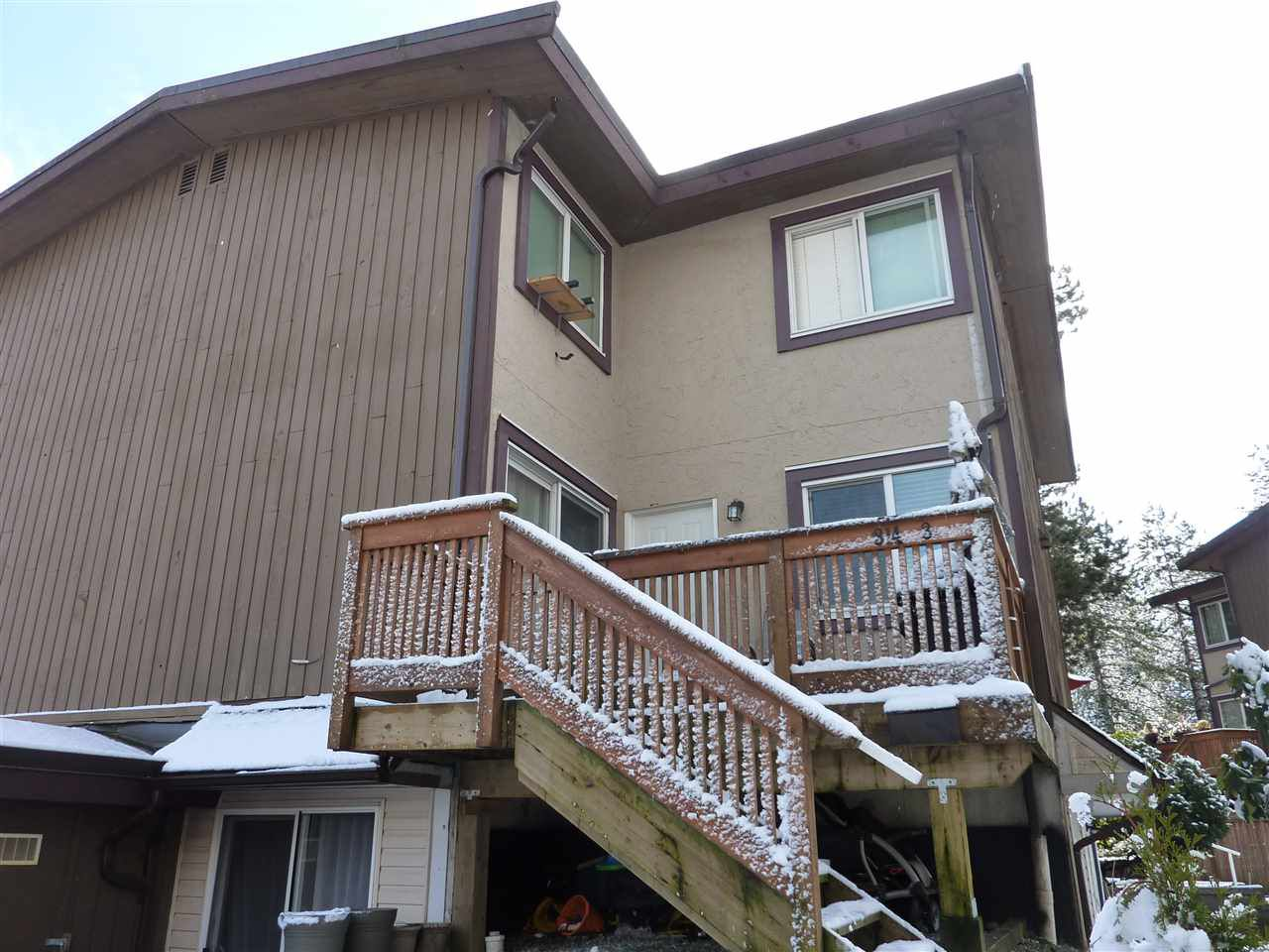 Main Photo: 3 314 HIGHLAND WAY in Port Moody: North Shore Pt Moody Townhouse for sale : MLS®# R2240983