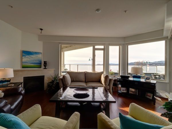 Watch beautiful sunsets from open living room
