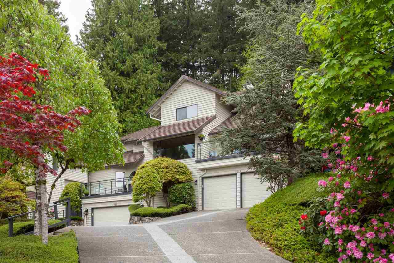 "Main Photo: 5728 OWL Court in North Vancouver: Grouse Woods Townhouse for sale in ""Spyglass Hill"" : MLS®# R2266882"