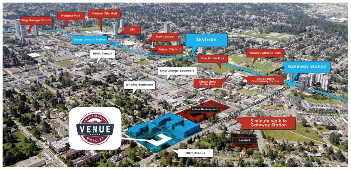 """Main Photo: 205 13768 108 Avenue in Surrey: Whalley Condo for sale in """"Venue by Tien Sher"""" (North Surrey)  : MLS®# R2295740"""