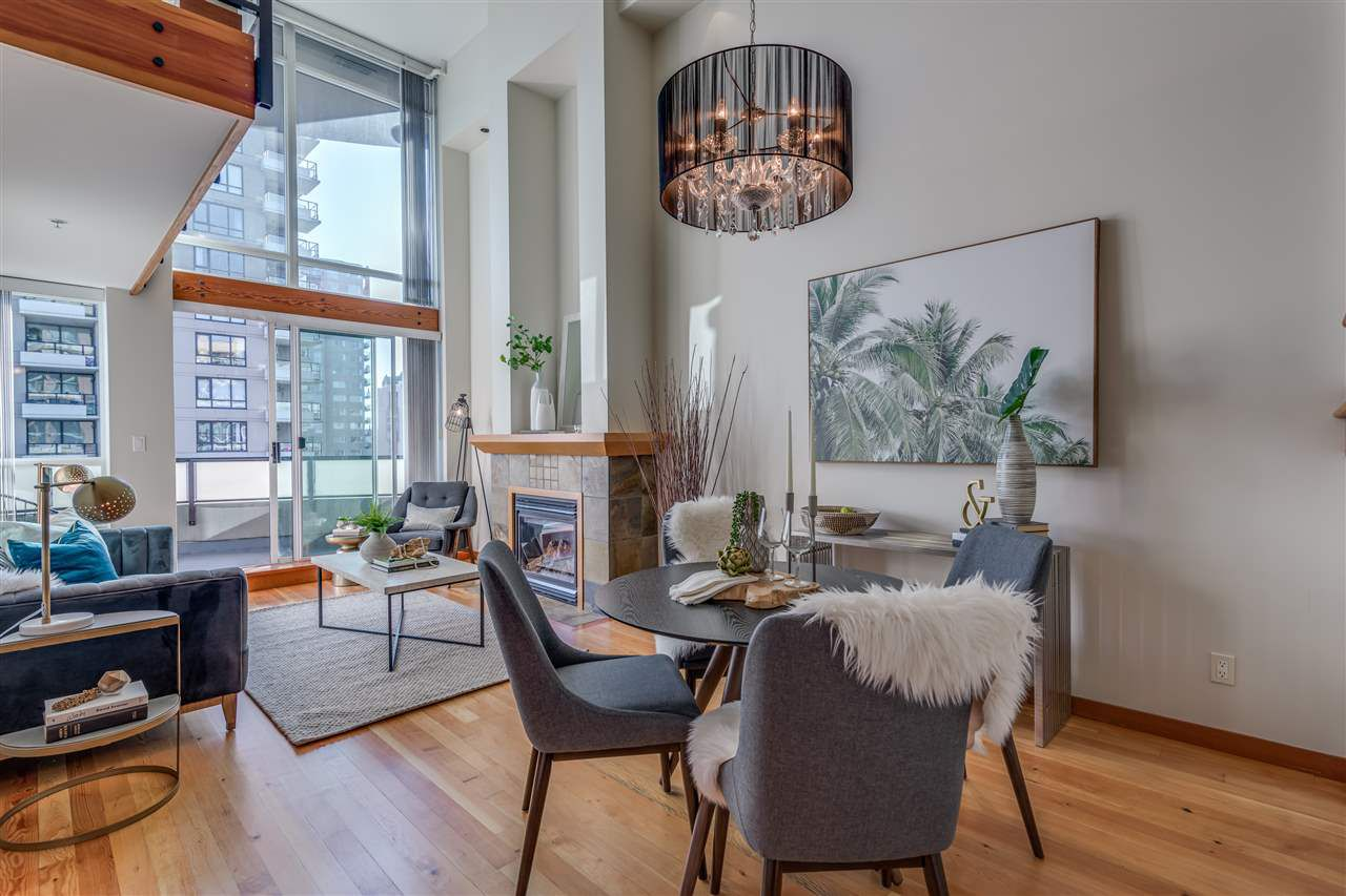"""Main Photo: 523 10 RENAISSANCE Square in New Westminster: Quay Condo for sale in """"MURANO LOFTS"""" : MLS®# R2322005"""