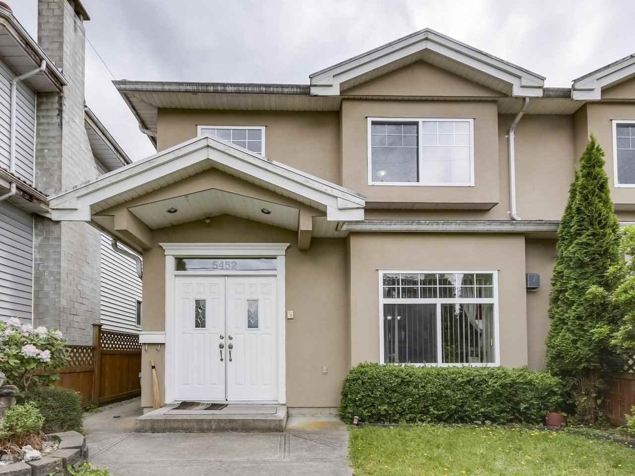 Main Photo: 5452 MANOR Street in Burnaby: Central BN House 1/2 Duplex for sale (Burnaby North)  : MLS®# R2358736