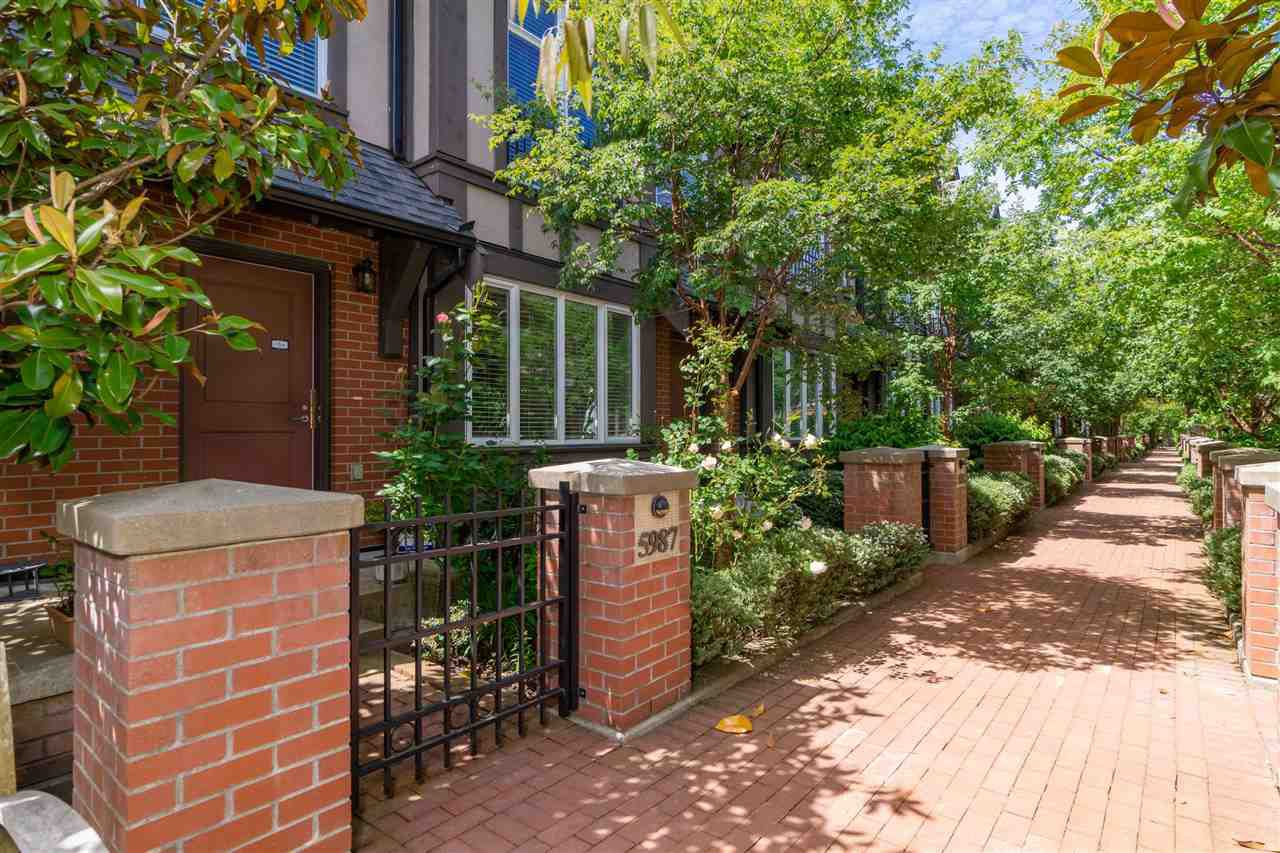 Main Photo: 5987 OAK Street in Vancouver: South Granville Townhouse for sale (Vancouver West)  : MLS®# R2377785