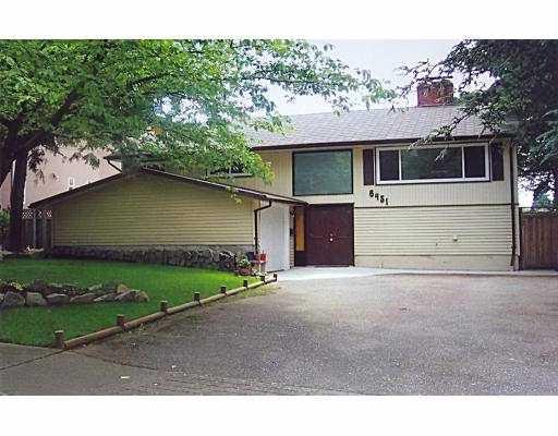 Main Photo: 6451 MALVERN AV in Burnaby: Upper Deer Lake House for sale (Burnaby South)  : MLS®# V543823