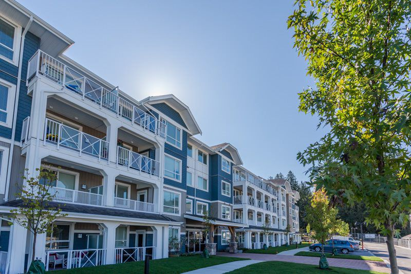 """Main Photo: 307 16396 64 Avenue in Surrey: Cloverdale BC Condo for sale in """"The Ridge at Bose Farms"""" (Cloverdale)  : MLS®# R2002175"""