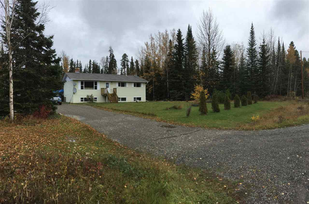 Main Photo: 7100 STAFFORD Road in PRINCE GRG: Blackwater House for sale (PG Rural West (Zone 77))  : MLS®# R2005584