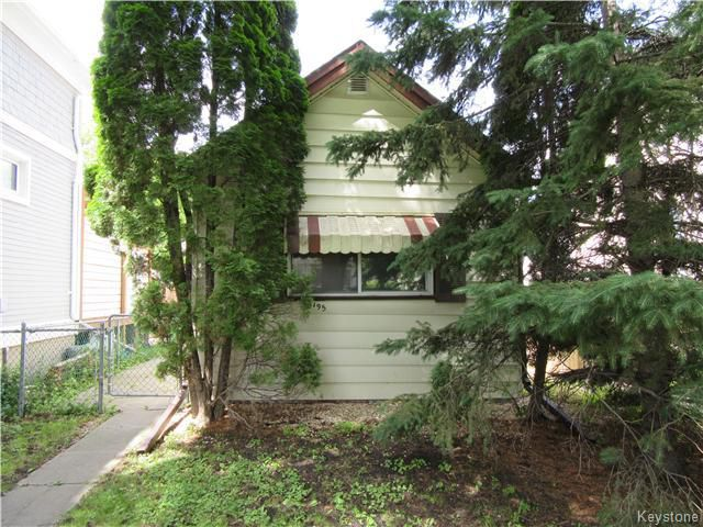 Main Photo: 195 Bertrand Street in Winnipeg: St Boniface Residential for sale (South East Winnipeg)  : MLS®# 1617329