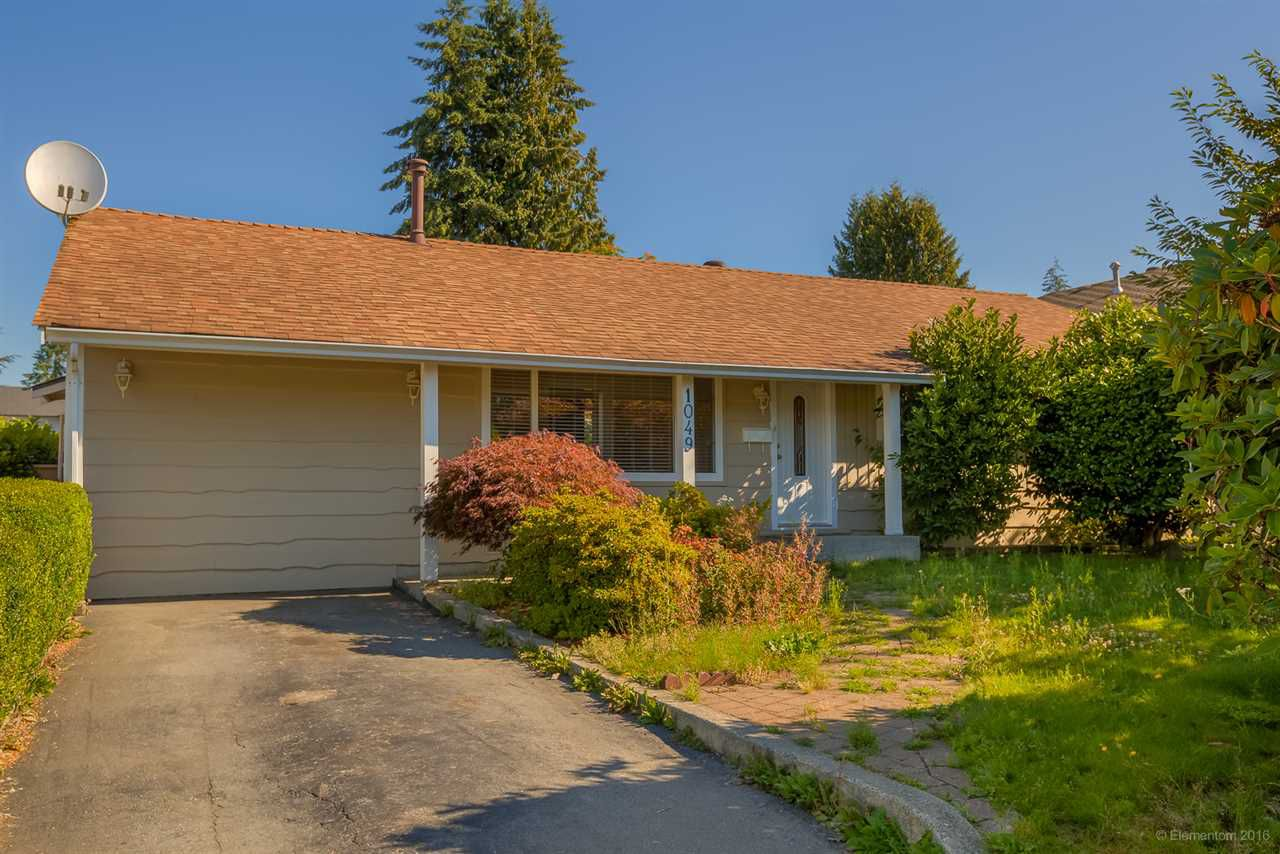 Main Photo: 1049 SPRICE Avenue in Coquitlam: Central Coquitlam House for sale : MLS®# R2113500