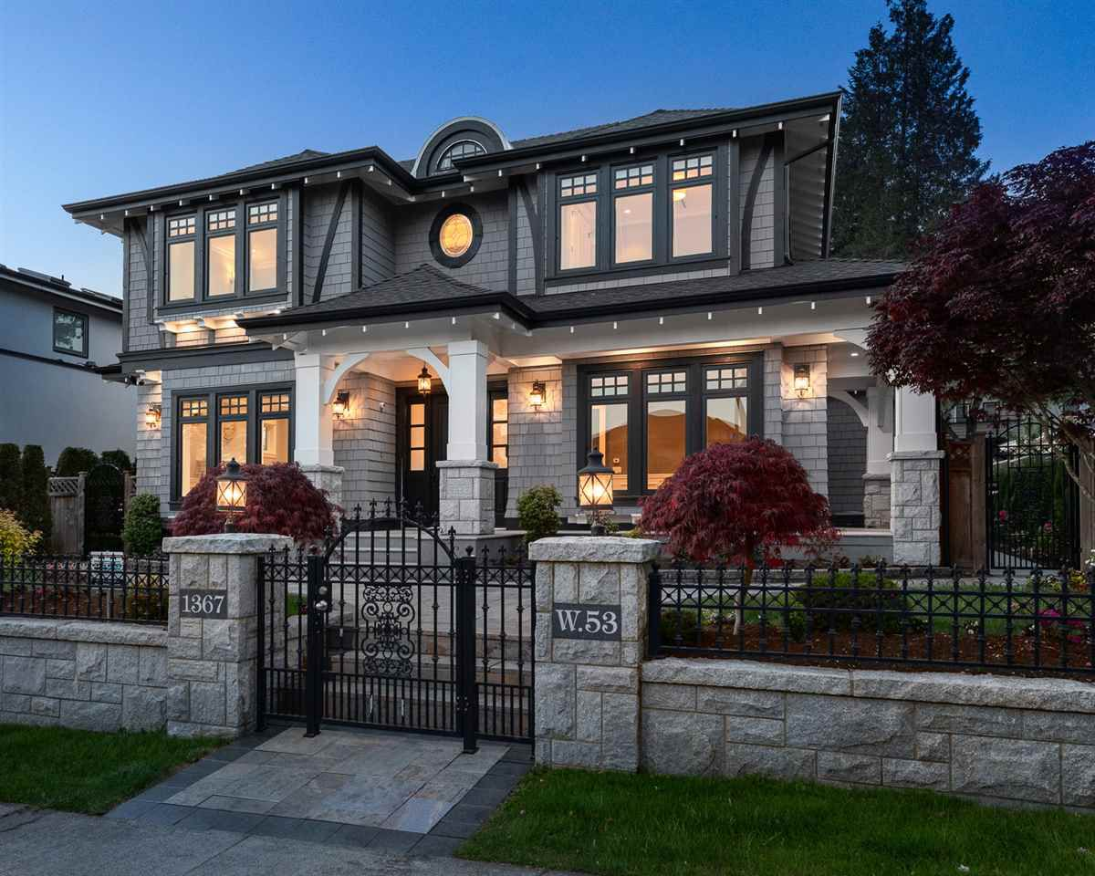 Main Photo: 1367 W 53RD Avenue in Vancouver: South Granville House for sale (Vancouver West)  : MLS®# R2386752