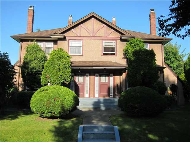 Main Photo: 1126 CYPRESS Street in Vancouver: Kitsilano House Duplex for sale (Vancouver West)  : MLS®# V899646