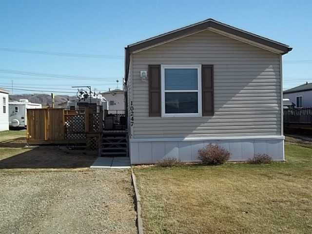 Main Photo: 10247 101ST Street: Taylor Manufactured Home for sale (Fort St. John (Zone 60))  : MLS®# N243821